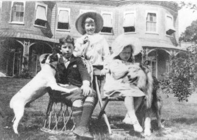 William, John Jestyn and Margaret Mary Llewellin