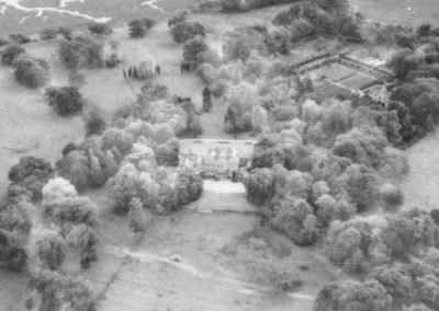 Upton House (walled garden upper right)