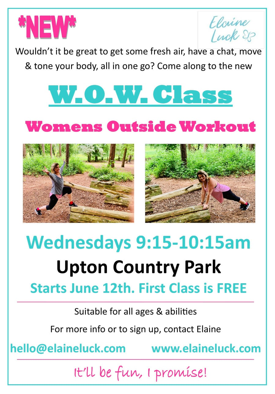Womens Outside Workout at Upton Country Park
