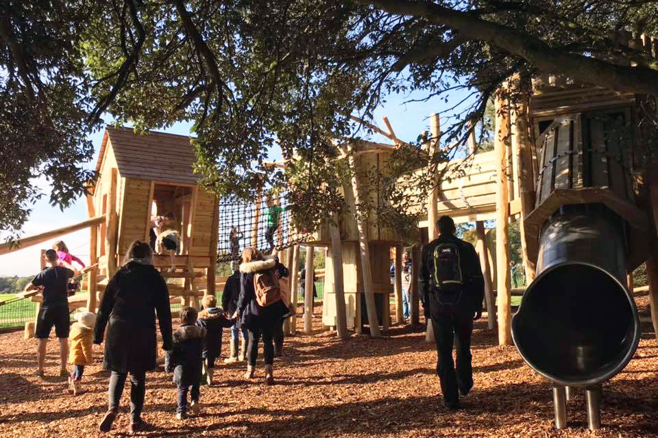 New Adventure Play at Upton Country Park