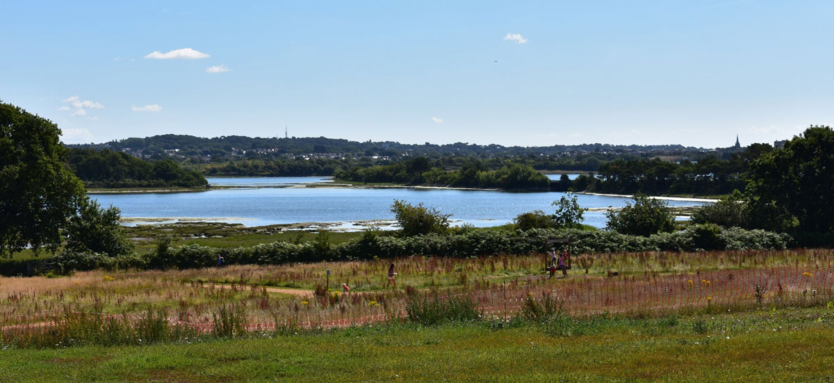 Outstanding views over Holes Bay Nature Reserve