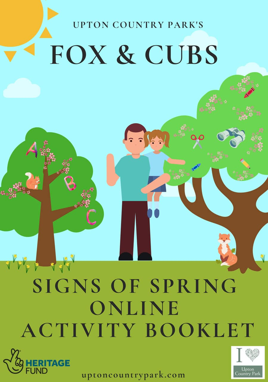 February Fox & Cubs Online Activity Booklet