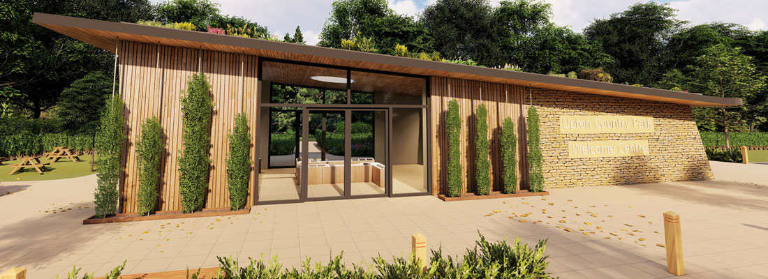 New Welcome Centre architects rendering